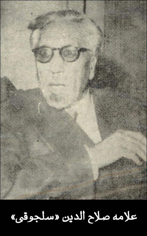 علامه صلاح الدین سلجوقی