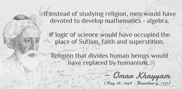 Instead Of Studying Religion By Omar Khayyam
