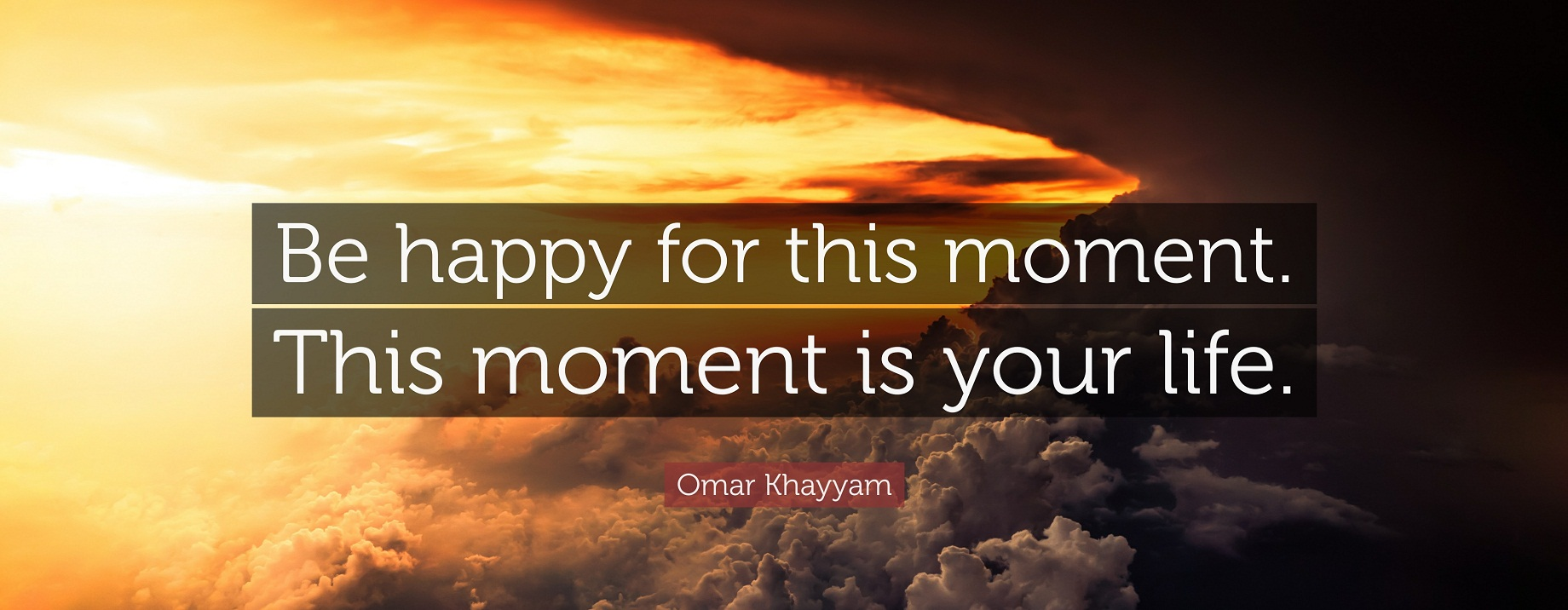 This Moment By Omar Khayyam