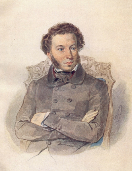 High the river ran in gloom By Alexander Pushkin