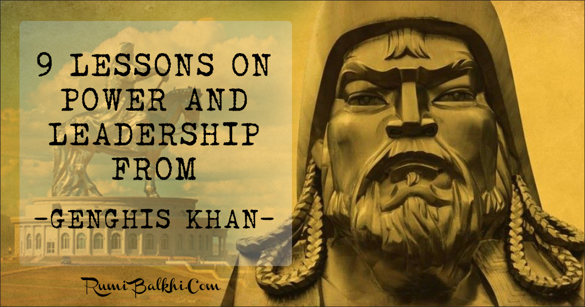 9 Lessons From Genghis Khan