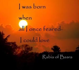 I Was Born By Rabia Al Basri
