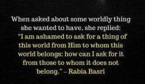 When Asked By Rabia Al Basri