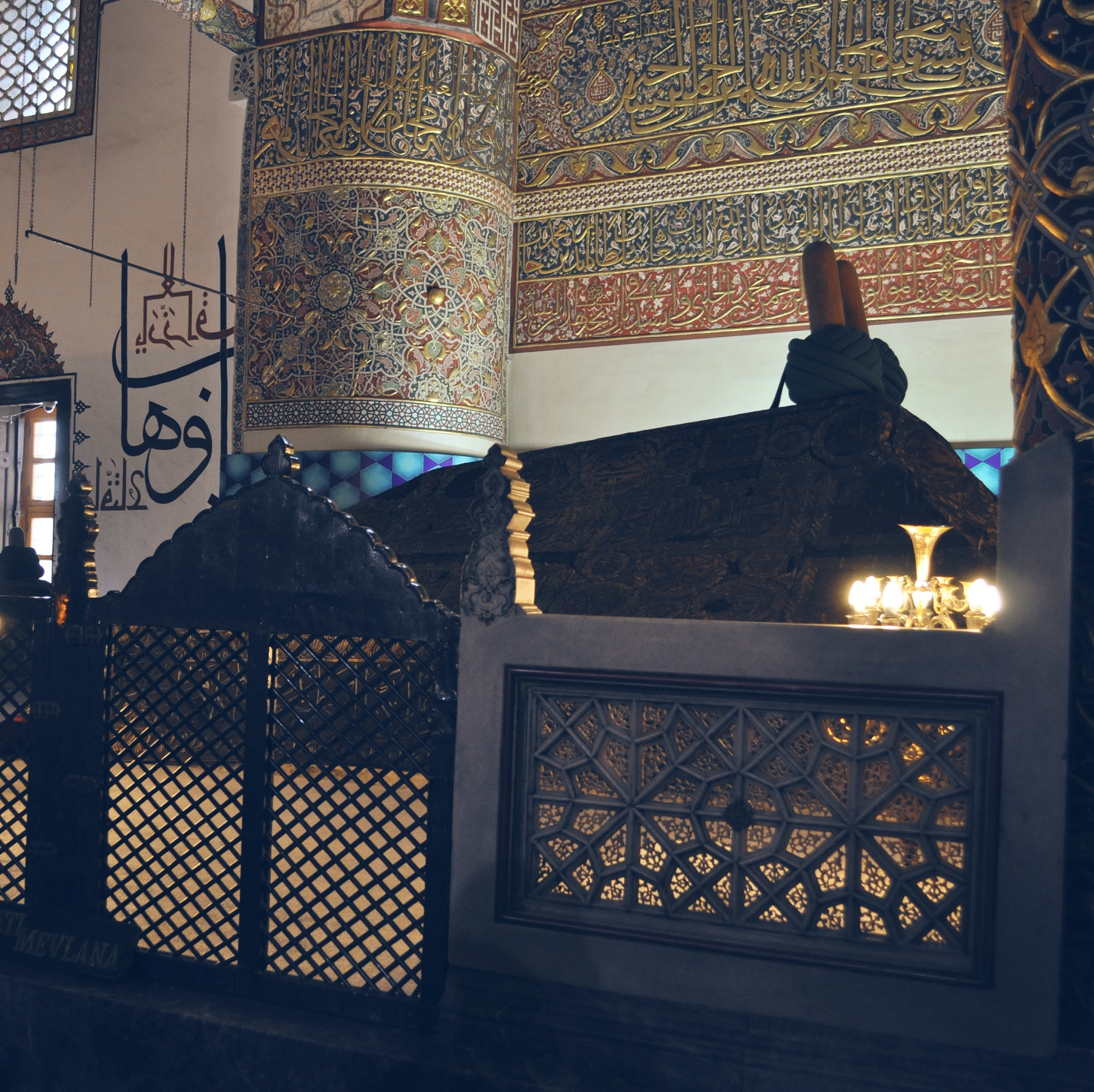 Different View Of The Holy Tomb Of Hazrat Mevlana Jalaluddin Mohammad Rumi Balkhi