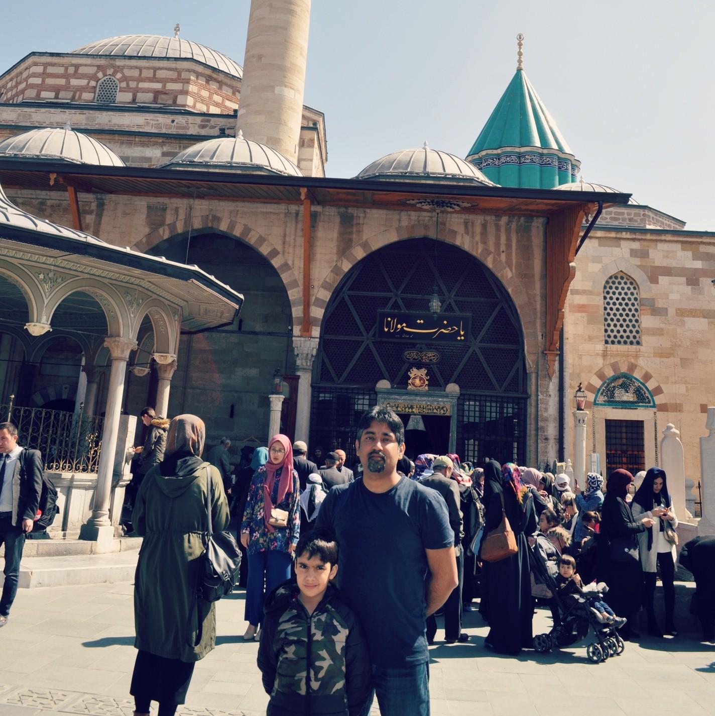 Faheem Hunarwar And Farhad Hunarwar In Konya
