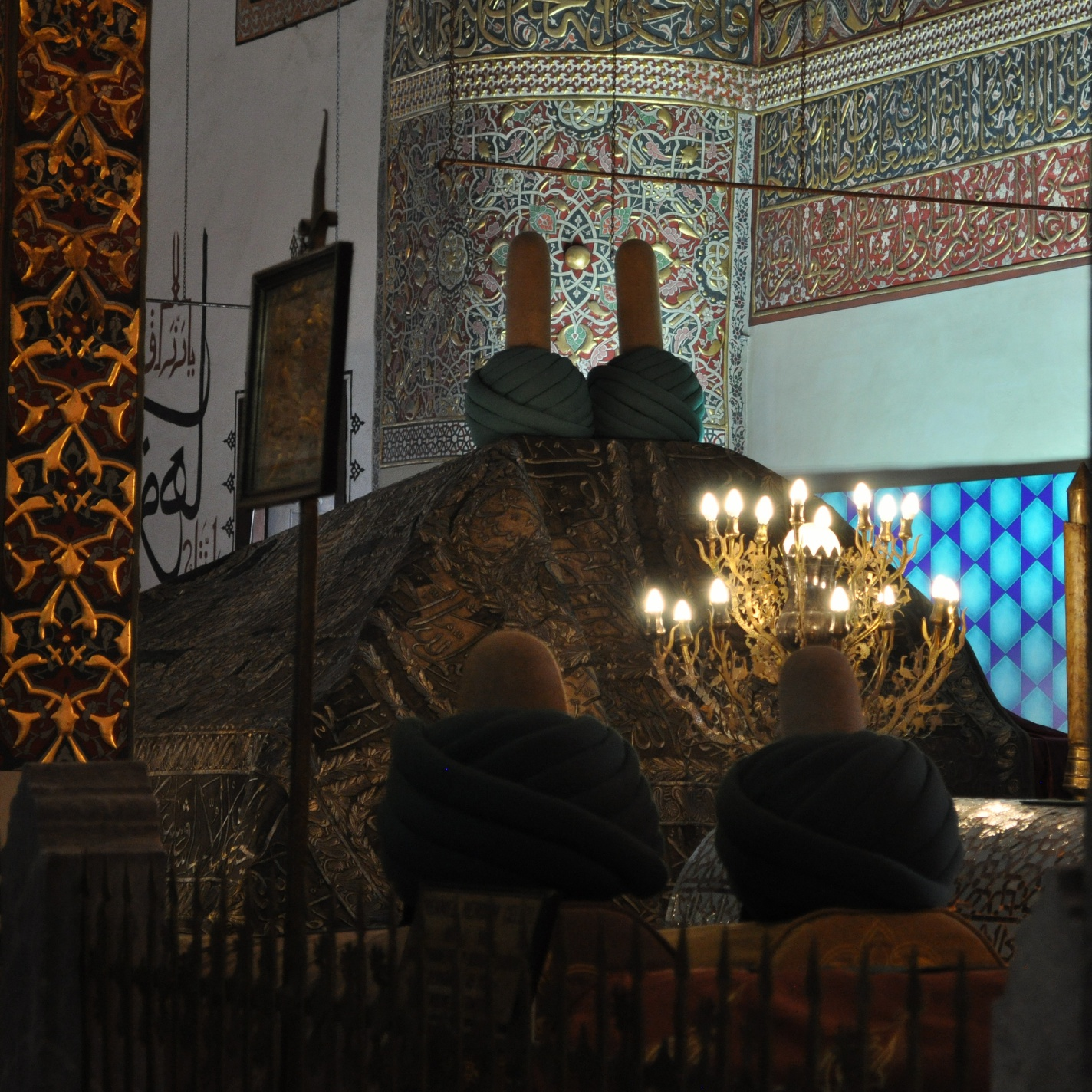 Holy Shrine Of Hazrat Rumi Balkhi 12