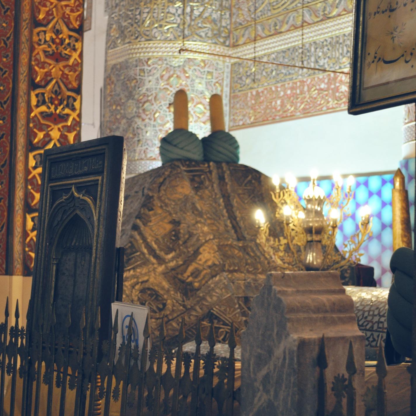 Holy Tomb Of Hazrat Mevlana Jalaluddin Mohammad Rumi Balkhi