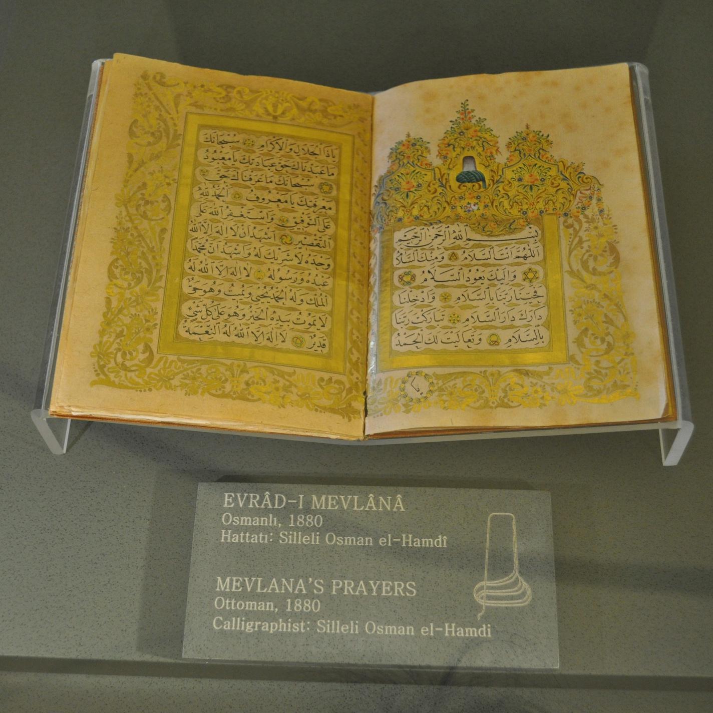 Prayers Of Hazrat Mevlana