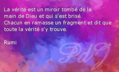 La Verite Est Un Miroir Tome De La Main De Dieu Et Qui Sest Brise