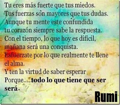 Poesia de Rumi en Español 000170
