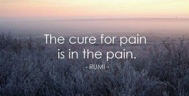 Rumi In Pain